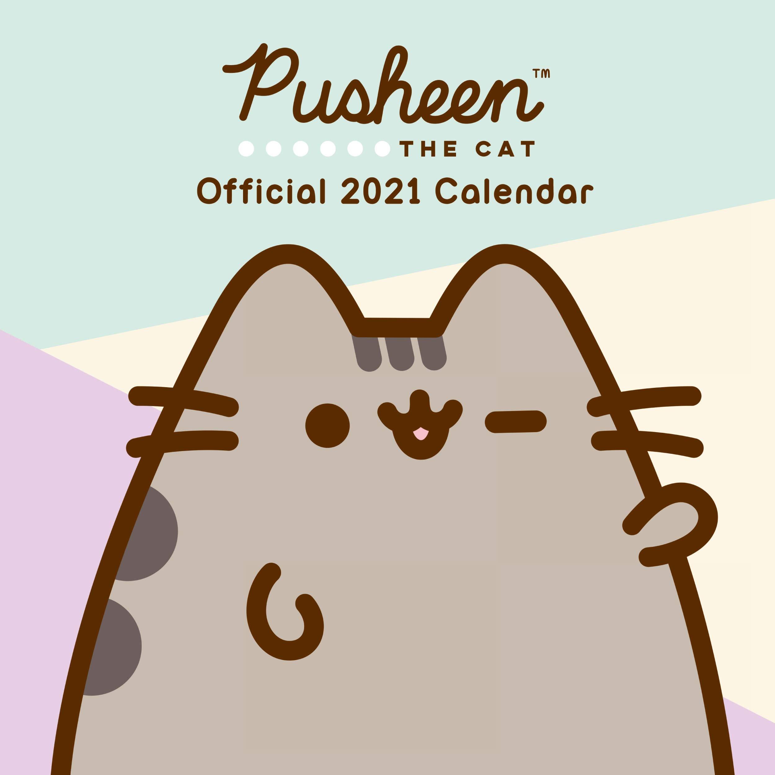 Pusheen 2021 Calendar | Calendar 2021