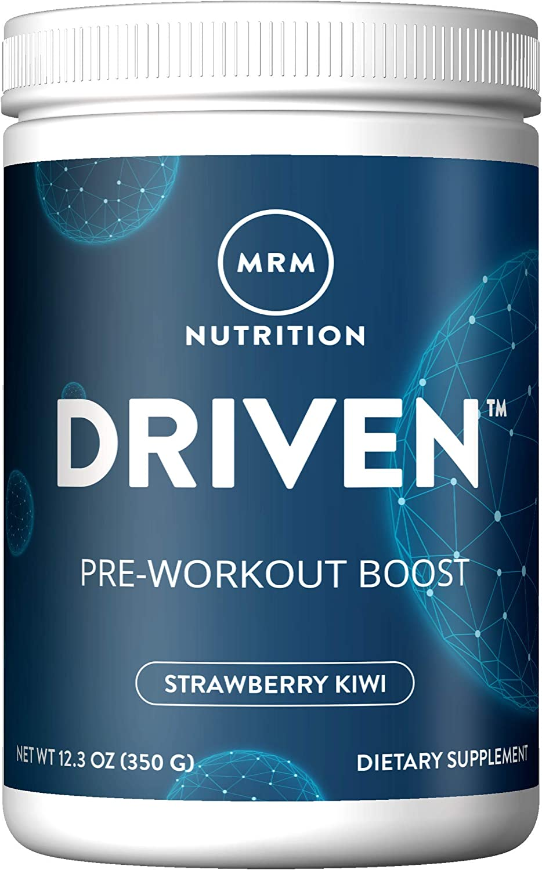 MRM Driven Pre Workout Powder for Training Boost - (Strawberry Kiwi)