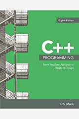 C++ Programming: From Problem Analysis to Program Design (MindTap Course List) Kindle Edition