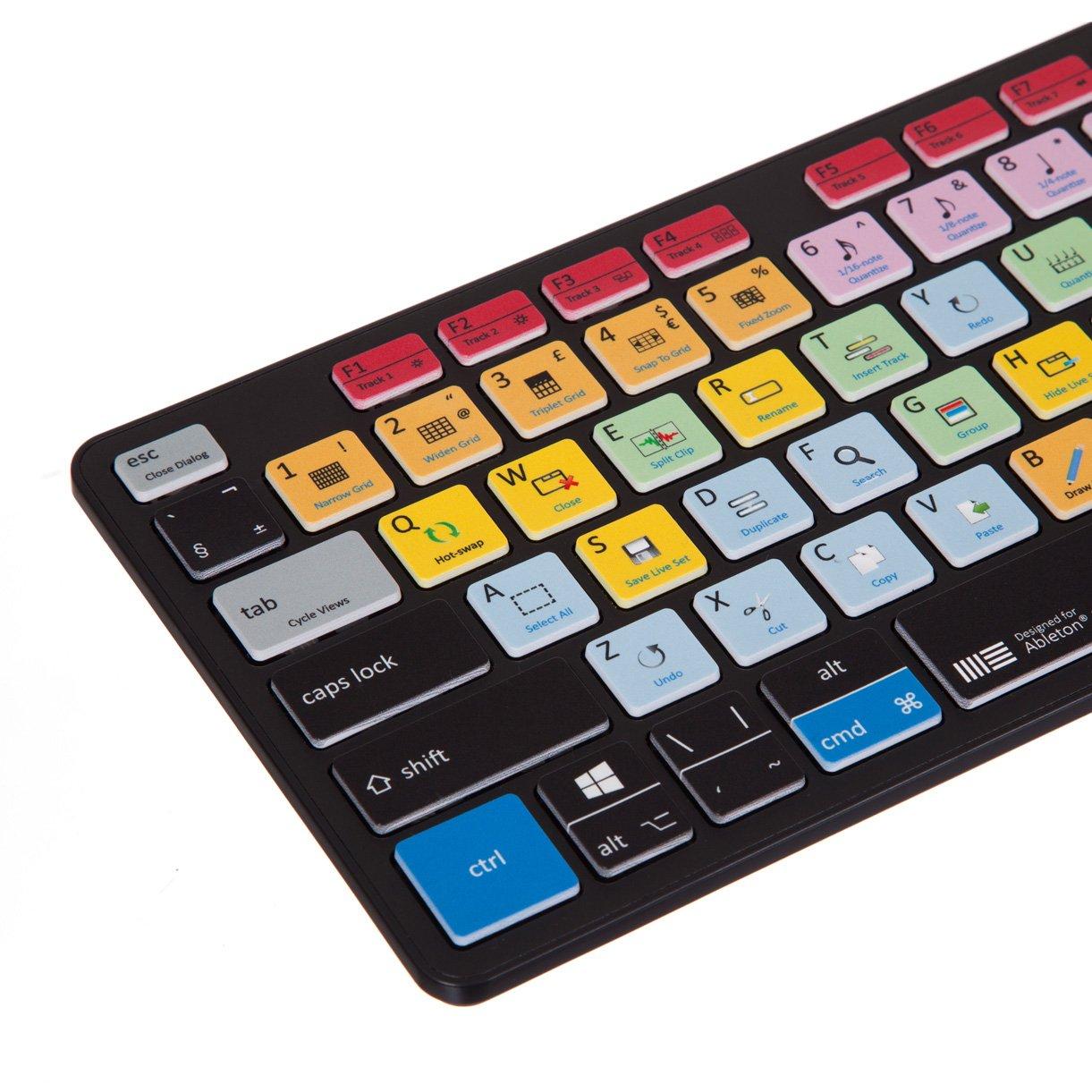 Ableton Live Teclado - Mac y PC Compatible Acceso directo teclado: Amazon.es: Informática