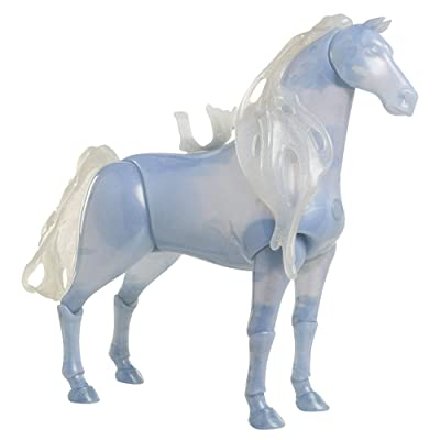 "Disney Frozen 2 Elsa's Spirit Horse, Light-Up & Sounds Water Nokk, 15 Inches Tall - Perfect for 14"" Toddler Dolls: Toys & Games"