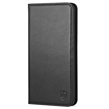 8d510e04ba2 iPhone X Case, iPhone X Wallet Case, SHIELDON iPhone 10 Leather Wallet Case  with