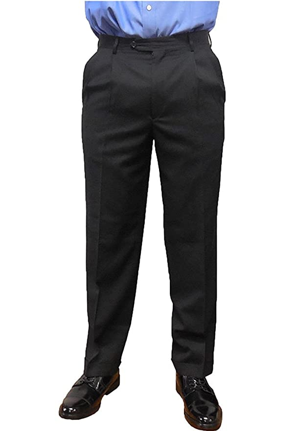Kirkland Signature Men/'s Non Iron Comfort Fit Pants Graphite