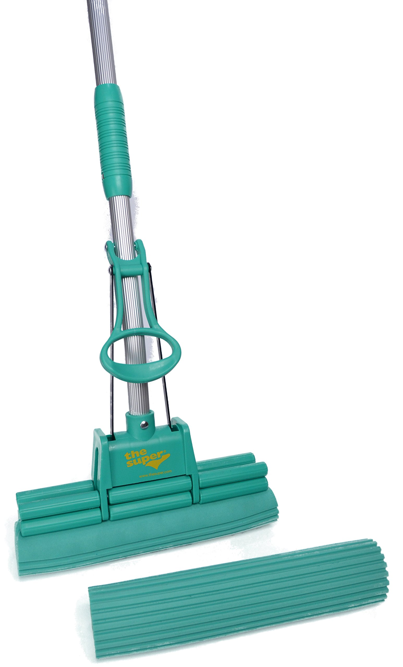 The Super Standard 11'' Double Roller PVA Sponge Mop Set (Mop and 1 Extra Refill) by The Super (Image #1)
