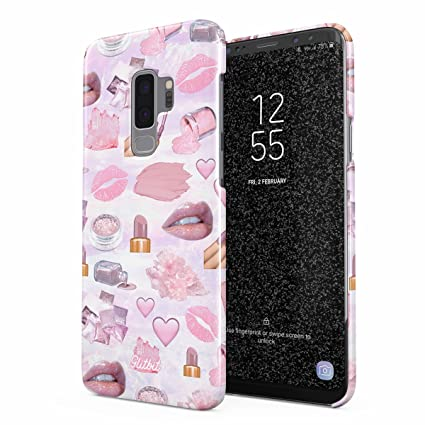 best sneakers 0f5f3 ac708 Amazon.com: Glitbit Compatible with Samsung Galaxy S9 Plus Case ...