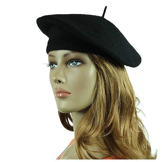90210 Wholesale Wool French Beret Hat Fashion Artist Hats Casual Plain  Beanie Cap Unisex Caps ( 1ce557006d0