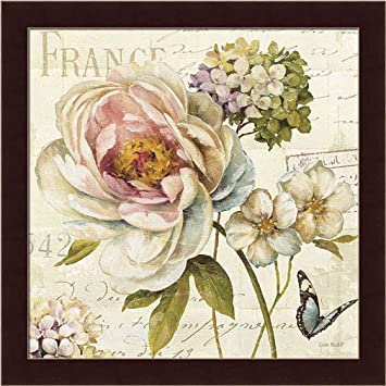 Amazon.com: Marche de Fleurs III by Lisa Audit Vintage Style French ...