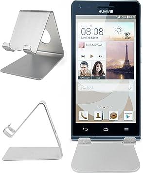 DURAGADGET ultra-contemporáneos plateado smartphone función atril ...