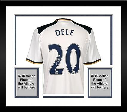 the best attitude bd5c5 3ef87 Framed Dele Alli Tottenham Hotspur Autographed 2016-17 Home ...