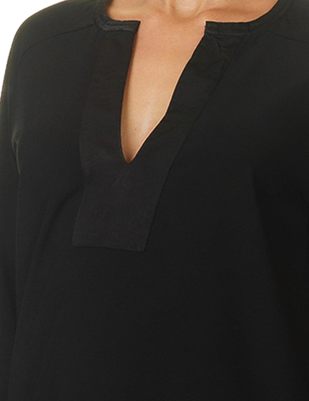 Soft Rebels Women's Plus Tunic Women's Black Dress