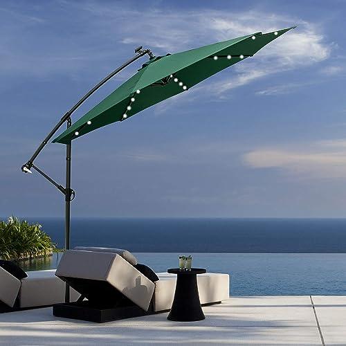 Klismos 10FT Patio Cantilever Umbrella