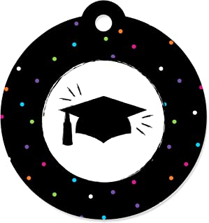 product image for Hats Off Grad - Graduation Party Favor Gift Tags (Set of 20)