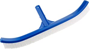 "XtremepowerUS Curved Pool Wall Brush 18"" w/PVC Back"