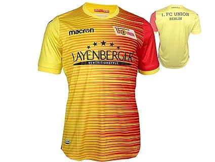 FC Union Berlin Niños Fútbol Jersey Amarillo 17/18 FCU alternativamente Camiseta