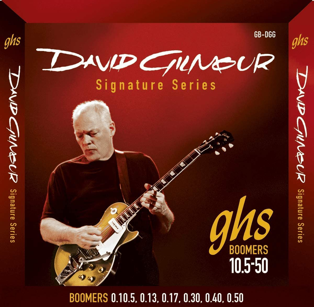 GHS: Dave Gilmour Signature Strings - Red Set (10.5-50s). para ...
