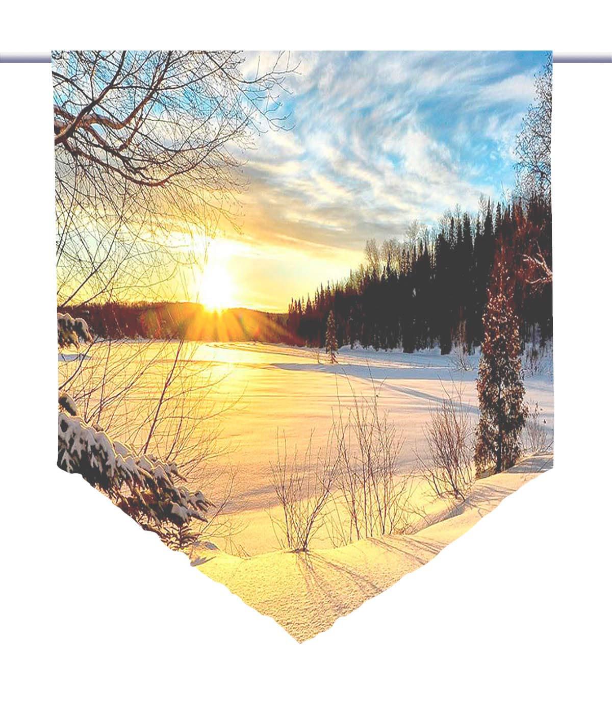 transparent Scheibenhänger LATERNE HxB 100x60 cm Farbe natur
