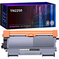 1 Pack Compatible TN2250 TN-2250 Toner for Brother HL2240D HL2242D HL2250DN HL2270DW MFC7360 MFC7362 MFC7460DN MFC7860DW…
