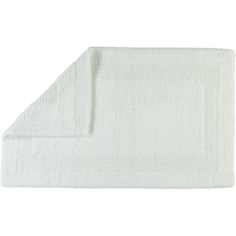 Cawö Wendeteppich Luxus 1000 weiß - 600 Größe 70 x 120