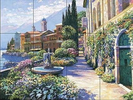 Ceramic Tile Mural - Splendor Of Italy - by Howard Behrens ...