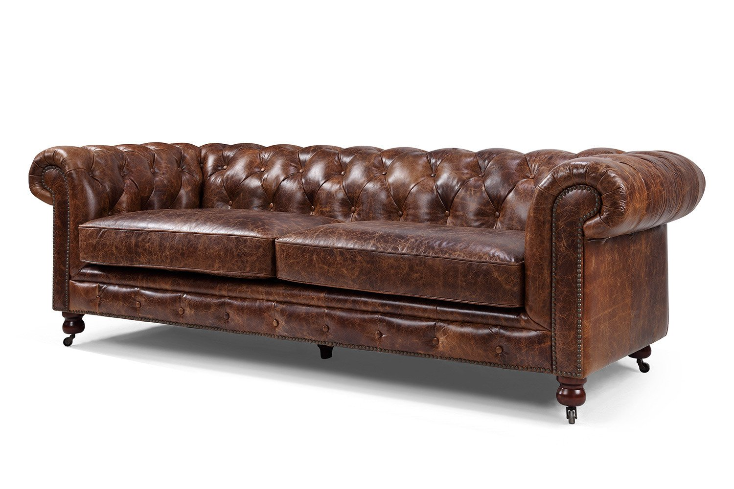 Great Amazon.com: Kensington Chesterfield Tufted Sofa By Rose U0026 Moore: Kitchen U0026  Dining