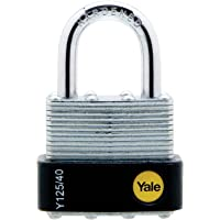 Yale Y125/40/122/1 Candado de Seguridad Arco Corto Y125