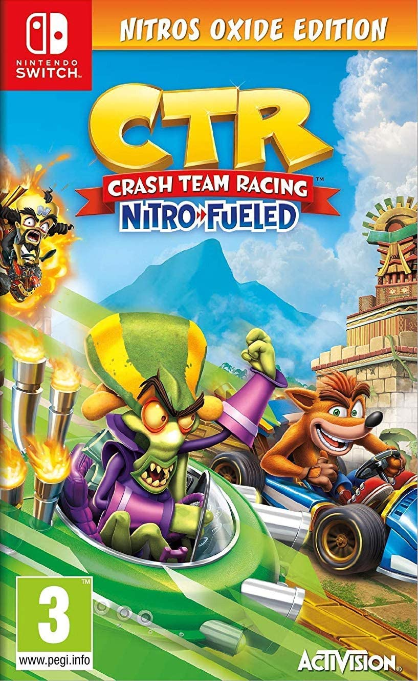 Crash Team Racing Nitro Fueled - Edición Nitros Oxide: Amazon.es: Videojuegos