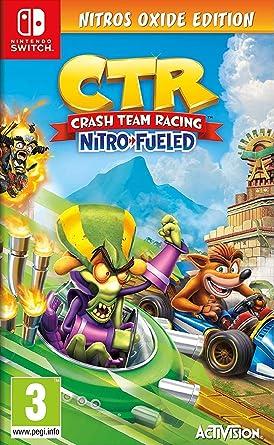 Crash Team Racing Nitro Fueled - Edición Nitros Oxide: Amazon.es ...