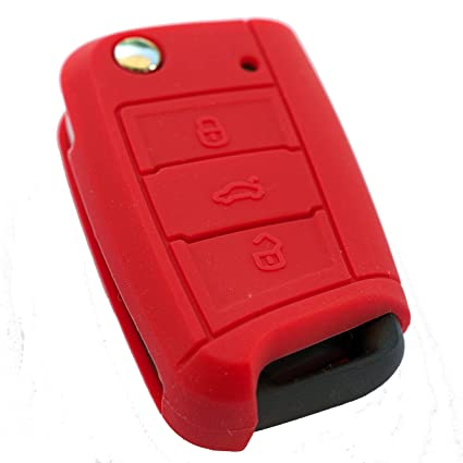 Seat Leon 5 F · SC · St · Rojo · Key Cover silicona · Llave ...