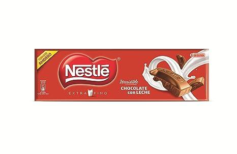 NESTLÉ EXTRAFINO Chocolate Con Leche - Tableta de Chocolate