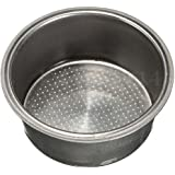 MagiDeal 51mm 2 Cup Non-Pressurized Coffee Filter Basket for Breville Delonghi Krups, Stainless Steel Material