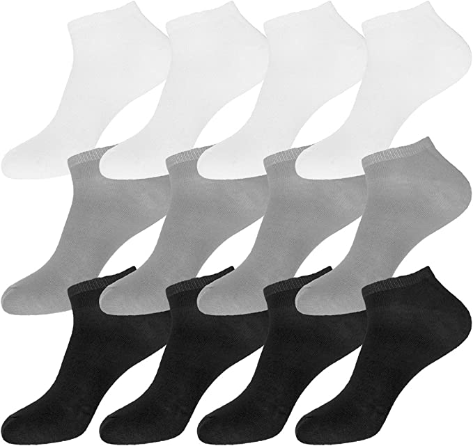 12 Pairs Beverly Hills Polo Club Women/'s Low Cut Ankle Socks