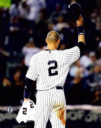 New York Yankees Derek Jeter Tip Of The Cap Captain Tips His One