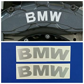 Amazoncom RG High Temp BMW Brake Caliper Decal Sticker Set Of - Bmw brake caliper decals