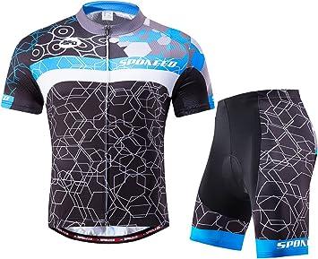 Amazon.com: sponeed - Conjunto de ciclismo para hombre, para ...