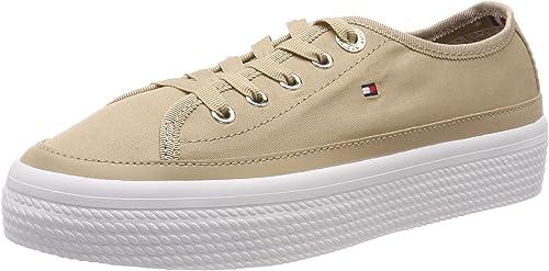 Tommy Hilfiger Corporate Flatform Sneaker, Scarpe da Ginnastica Basse Donna