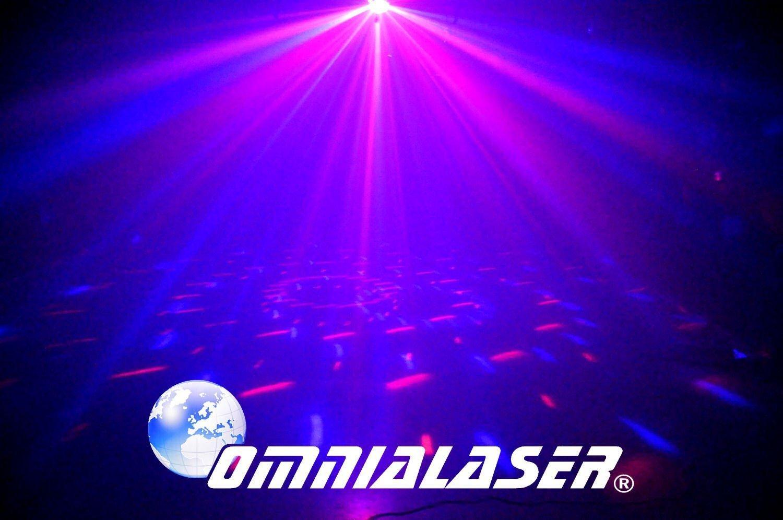 OmniaLaser OL-MFL5 Effetto Luce LED Moonflower con Microfono Interno