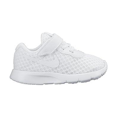 new styles 31eea 5401e Nike Tanjun (TDV), Chaussures de Football Bébé Garçon, Blanc Cassé-Blanco