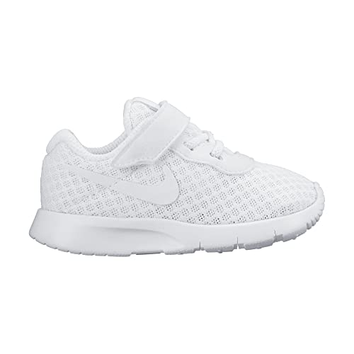 uk availability cfa29 c7d76 Nike Baby Girls Tanjun (TDV) Birth White Size  4.5 Child UK  Amazon.co.uk   Shoes   Bags