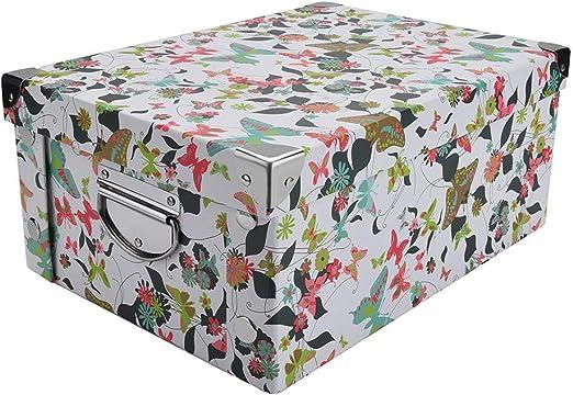 GUOZI Caja de Almacenamiento de cartón Decorativa con Tapa y ...