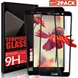 Aonsen Huawei Mate 10 Pro Screen Protector, [2 Pack] Full Coverage Tempered Glass Screen Protector, Anti-Fingerprint, 9H Hardnes, Huawei Mate 10 Pro HD Crystal Protective Film Guard Cover - Black