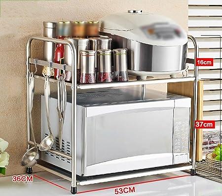 Utensilios de Cocina Reposapiés Estante Hornos de microondas ...