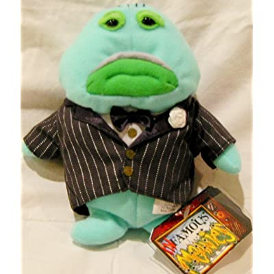 "Infamous Meanies Plush-The ""Codfather"" Don Albacoreleone: Toys & Games"