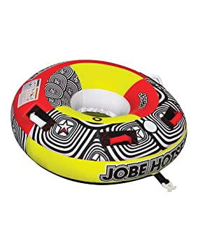 Jobe Hotseat 1P - Flotador de arrastre, color amarillo: Amazon.es: Deportes y aire libre