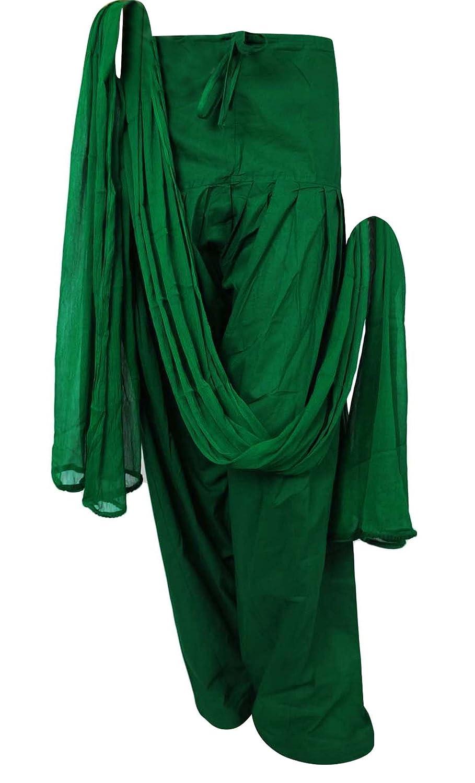 Chiffon Dupatta Ready Made Salwar aus reiner Baumwolle Frauen indische Kleidung Verstellbare Hosen Indianbeautifulart DS23