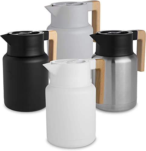 Large Thermal Coffee Carafe - Stainless Steel