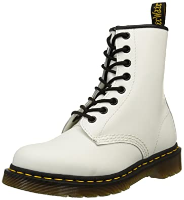 1460, Boots mixte adulte - Blanc (1460 Smooth 59 Last WHITE) 36 EUDr. Martens