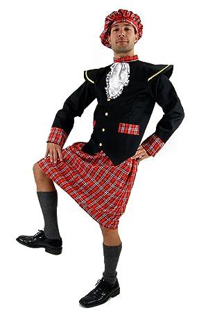 DRESS ME UP - K37/56 Disfraz escocés kilt Braveheart ...