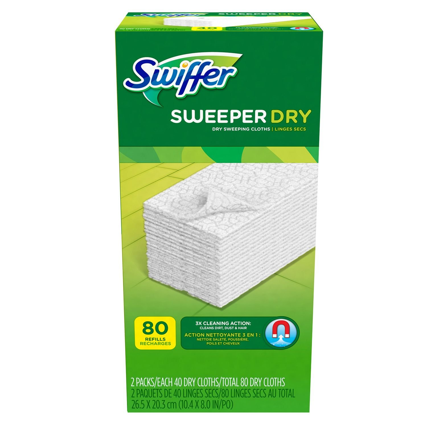 Swiffer Dry Refills, Open Window Fresh (pack of 6)