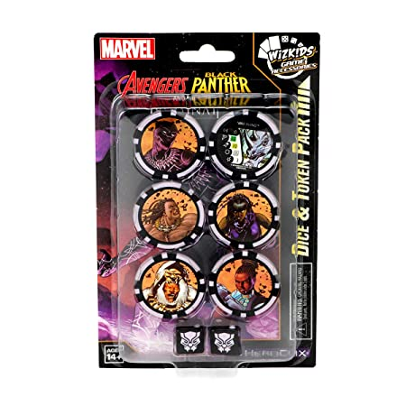 WizKids Marvel HeroClix: Avengers Black Panther and The ...