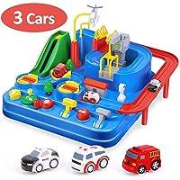 Deals on CubicFun Race Tracks for Boys Car Adventure Toys